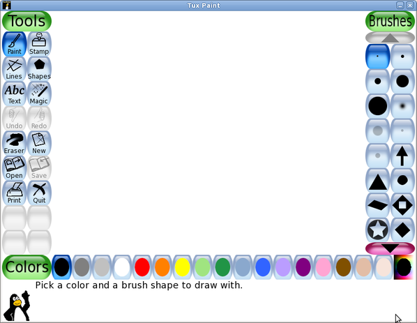 Download of the day paint program for young children Paint for linux