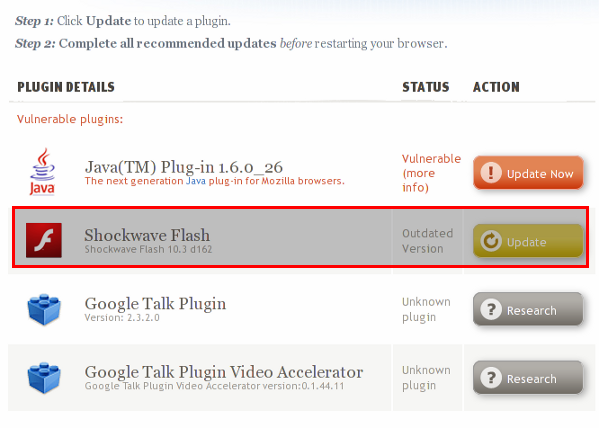 Get Shockwave Flash For Chrome