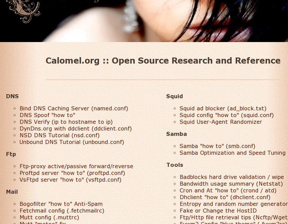 Open Source Research and Reference Documentation
