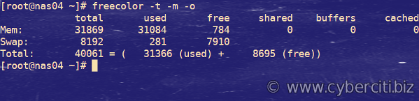 How to view hardware specs including memory on FreeBSD