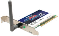DLINK DWL g520 PCI Wireless card