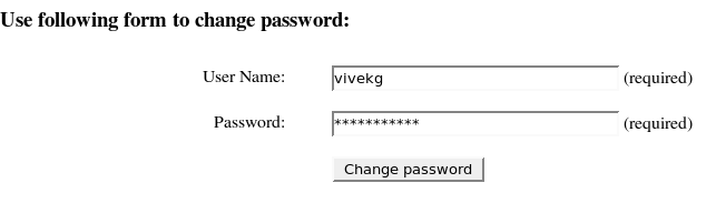 changepassword php script output # 1