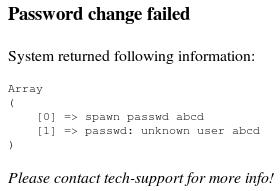 changepassword php script output # 3