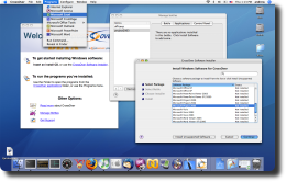 Now run your windows applications, seamlessly on Mac OS X