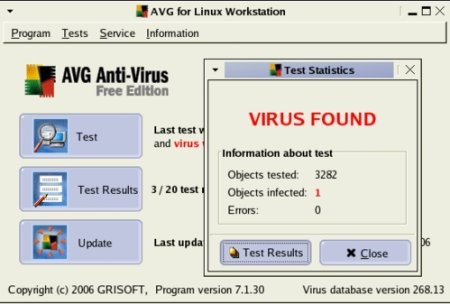 Download of the day: Free AVG 7.1 anti-virus for Linux