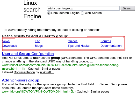 Introducing Linux Custom Search Engine using Google - nixCraft