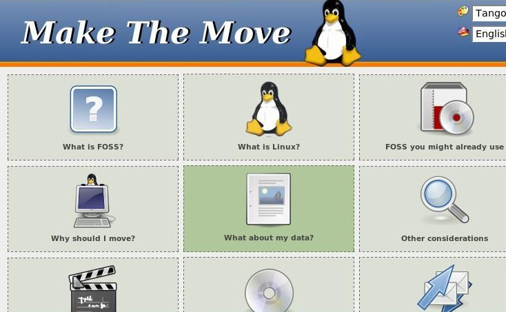 How to migrate or move to Linux - newbie information site.