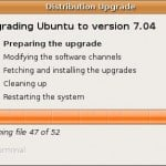 Howto upgrade from Ubuntu 6.10 to Ubuntu feisty fawn 7.04 Linux