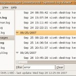 Search Linux / UNIX log files smartly for an alert or warning error