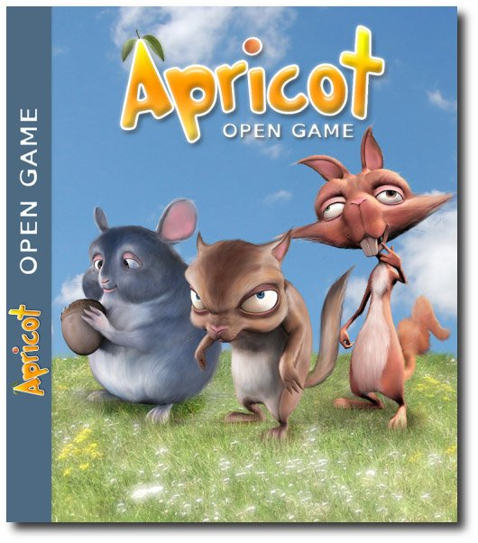 Apricot Open Source 3D Game Screenshot / Poster