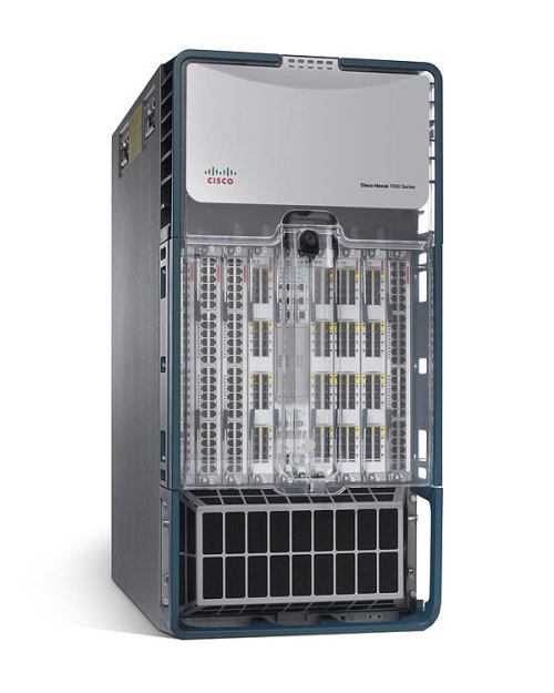 Cisco Nexus 7000 Network Switch Can Route 15 Terabits Per Second