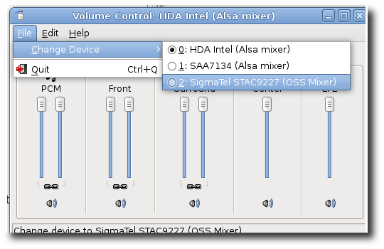 Linux GUI to List all Soundcards and Digital Audio Devices