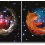 Humor: Firefox Logo in Deep Space