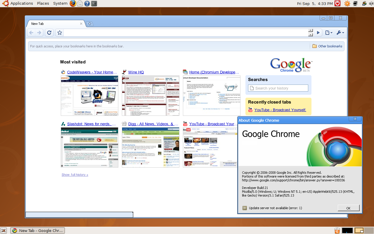 Download Google Chrome Browser for Linux / Mac OS X - nixCraft