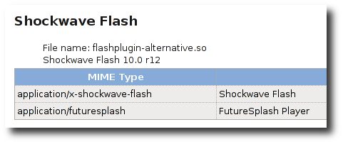 Fig.01: Ubuntu Linux flash 10 in action
