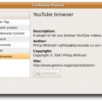Ubuntu Linux: Watch and Play BBC / YouTube Videos With Totem Movie Player
