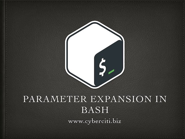 How To Use Bash Parameter Substitution Like A Pro